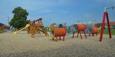 Nové dětské hřiště předškolou